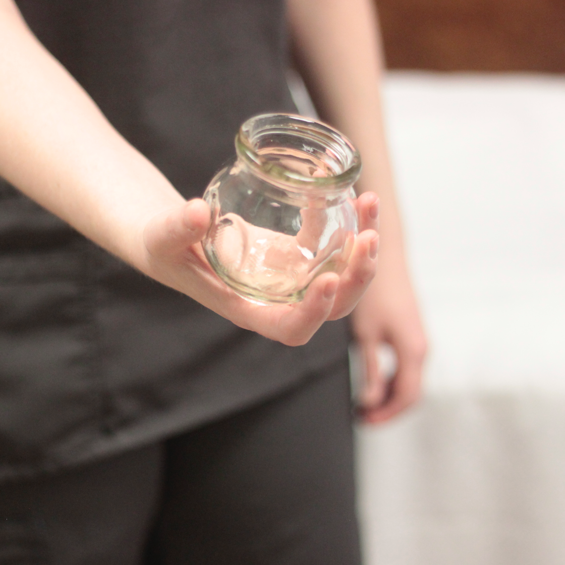 glass cups used for cupping